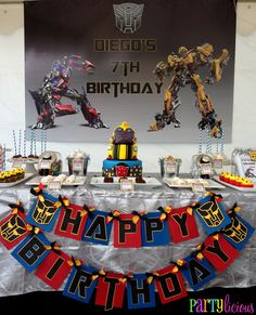 "Photo 1 of 19: Transformers / Birthday ""{Transformers Birthday}"" 
