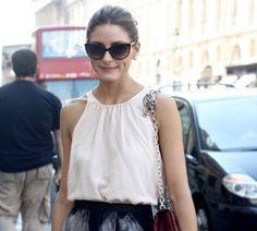 Those sunglasses are just perfect and so chic.