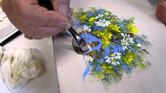 Floral techniques: free lesson of Decorative Painting by Ros Stallcup - ...