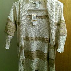 NWT American rag cardi Boho look cardi. Beautiful colors reasonable offers accepted. American Rag Sweaters Cardigans