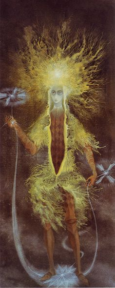 Dark Romance - Remedios Varo - Personaje Astral Amazing Surreal Artist. I consider her one of the best.