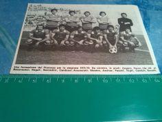 Squadre calcio anni '70 PIACENZA 1975/76 Ritaglio-clipping