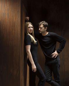 Anna Torv and Joshua Jackson. =)