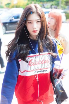 Kpop Girl Groups, Korean Girl Groups, Kpop Girls, Ulzzang Hair, Jung Chaeyeon, Choi Yoojung, Kim Sejeong, Kpop Outfits, Korean Beauty