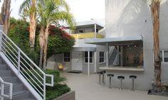 Palm Springs modernism, Movie Colony Hotel interior