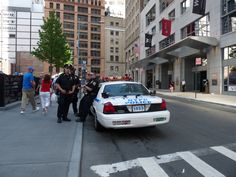 Police at Ground Zero