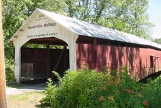Parke County, Indiana -- with its annual Covered Bridge Festival celebrating the county's 31 historic covered bridges. (I have been to and photographed all 31 bridges. ~ Wendy)