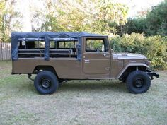 Rare Soft-Top Troop Carrier: 1981 Toyota FJ45
