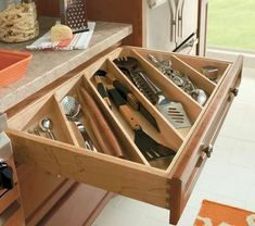 Como organizar utensilios de cocina #cocinasmodernasmadera