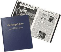 New York Times Baseball History Book