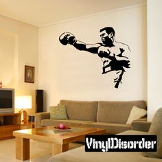 Boxing Wall Decal - Vinyl Decal - Car Decal - Bl001