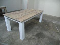 Tisch Möbel Esstisch Küchentisch 200 - 100 - 76 Bauholz Möbel Gartenmöbel
