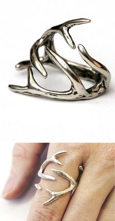 Antler Ring - I can think of some Danielson girls who this would look good on!