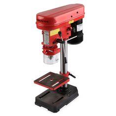 EBERTH-350W-Tischbohrmaschine-Standbohrmaschine-Saeulenbohrmaschine-Bohrmaschine