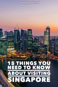 15 Things You Need To Know About Visiting Singapore - Hand Luggage Only - Travel, Food & Photography Blog