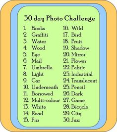 Thinking about doing a photo challenge....pinning the ones I like so I can remember