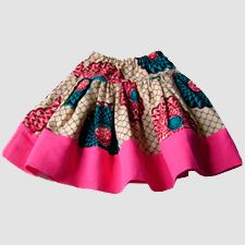 African-inspired children's clothing and accessories by Grace & Elie..yarnpainting idea