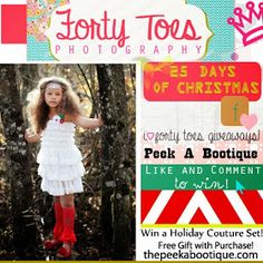 Forty Toes: Peek A Bootique GIVEAWAY!