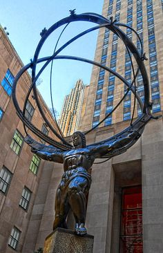 Atlas Statue, New York City