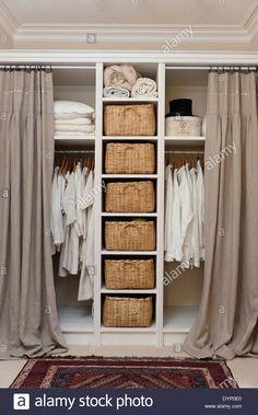 Apartment Storage Closet Organization Shelves Ideas For 2019 Wardrobe Storage, Bedroom Wardrobe, Wardrobe Closet, Closet Storage, Bedroom Storage, Closet Organization, Diy Bedroom, Ikea Storage, Design Bedroom