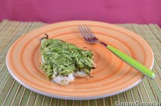 Filetti di orata in crosta di zucchine | Le ricette di GnamGnam