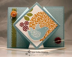 See Julie Stamp - Julie Wadlinger, Stampin' Up! Demonstrator : Betsy's Blossoms - CPC22