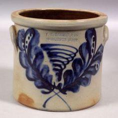F. B. Norton & Co. Stoneware Crock
