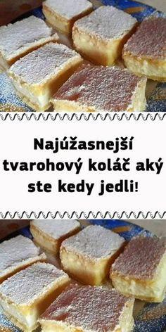 Kolaczki Cookies Recipe, Cookie Recipes, Dessert Recipes, Czech Recipes, My Dessert, Sweet Desserts, Smoothies, Cheesecake, Deserts