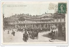 "CARTE POSTALE ""Paris La Place du Palais-Royal 1911"""