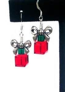 christmas present earrings - Bing Images
