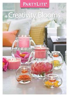 New Decorator Options by PartyLite! www.partylite.biz/dayswithdeanna