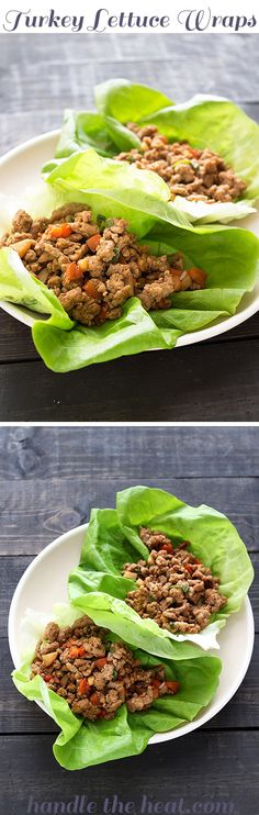 Turkey Lettuce Wraps: Ultra fast, fresh, and flavorful!