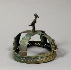 Dogon bronze coiled wire bronze ceromonioal crown, 18th-19th century A.D. Private collection