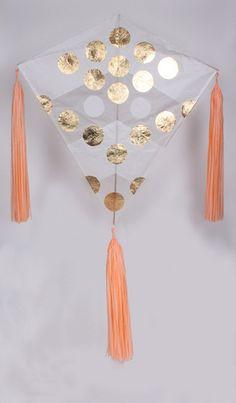 kites as wall hangings