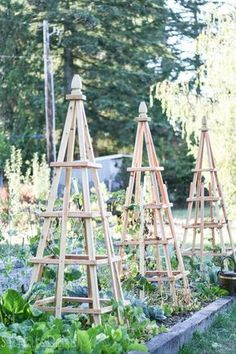Tutorial, Woodworking, Gardening Project, Pyramid, Obelisk, Trellis