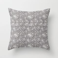 Lotsa Bling Throw Pillow by TecaBurq - $20.00