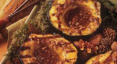 Check out this delicious recipe for Acorn Squash with Spiced Pecan Butter from Weber—the world's number one authority in grilling.