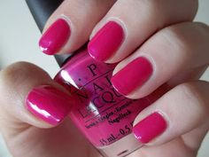 polishloving: OPI La Paz-itively Hot and Color Club Hot Couture