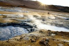 open earth  Photo and caption by andrea coan  Location: Namaskard, Iceland