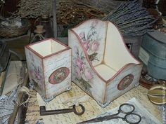 "Sets of handmade accessories.  Fair Masters - handmade ""Royal Rose"" - set for the desk.  Handmade."