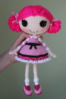 DeviantArt: More Collections Like LALALOOPSY Winter Snowflake Crochet Amigurumi Doll by Npantz22