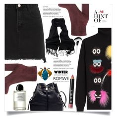 """""""Crazy For Fuzz"""" by violet-peach ❤ liked on Polyvore featuring Fendi, Gianvito Rossi, Joanna Buchanan, Byredo and Bobbi Brown Cosmetics"""