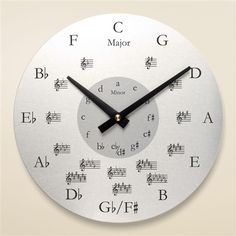 Cooler Office's - http://www.RockTheFOut.com band room clock.
