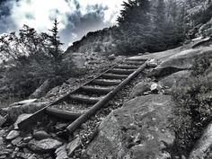 Ascending Mount Pilchuck.