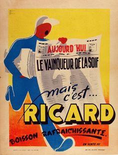 Bataille Mais C'est Ricard c.1930