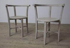 The Artist's Chair - A worn timber chair.