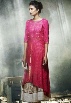 buy W for woman designer cotton kurti online purchase
