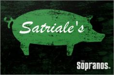 satriale's The Sopranos