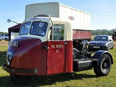 Scammell Scarab British Railways Vintage Trucks, Old Trucks, Classic Trucks, Classic Cars, Mechanical Horse, British Rail, Bus Coach, Commercial Vehicle, Cars And Motorcycles