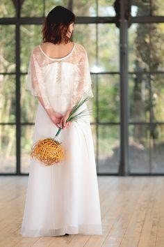 Robe de mariée bohém